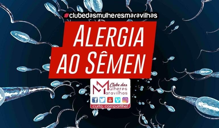 Alergia ao sêmen
