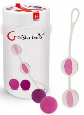 Geisha Balls 2 para a prática do Pompoarismo
